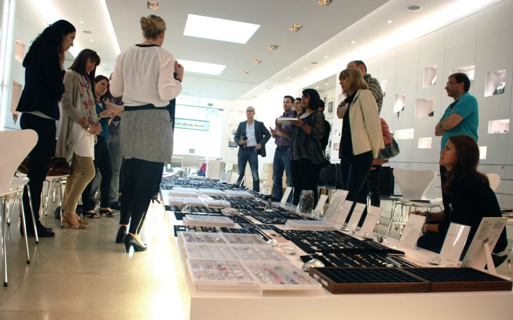 Produktpräsentation im Swarovski Showroom