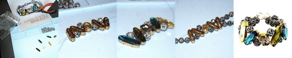 Herstellung Swarovski Armband