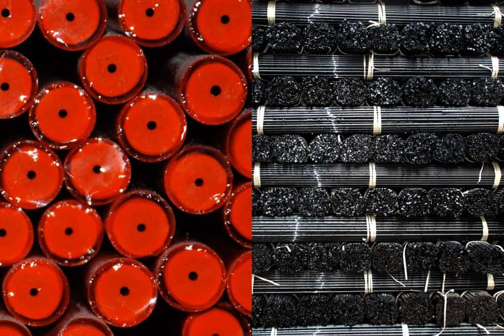 Produktion von Glasschliffperlen