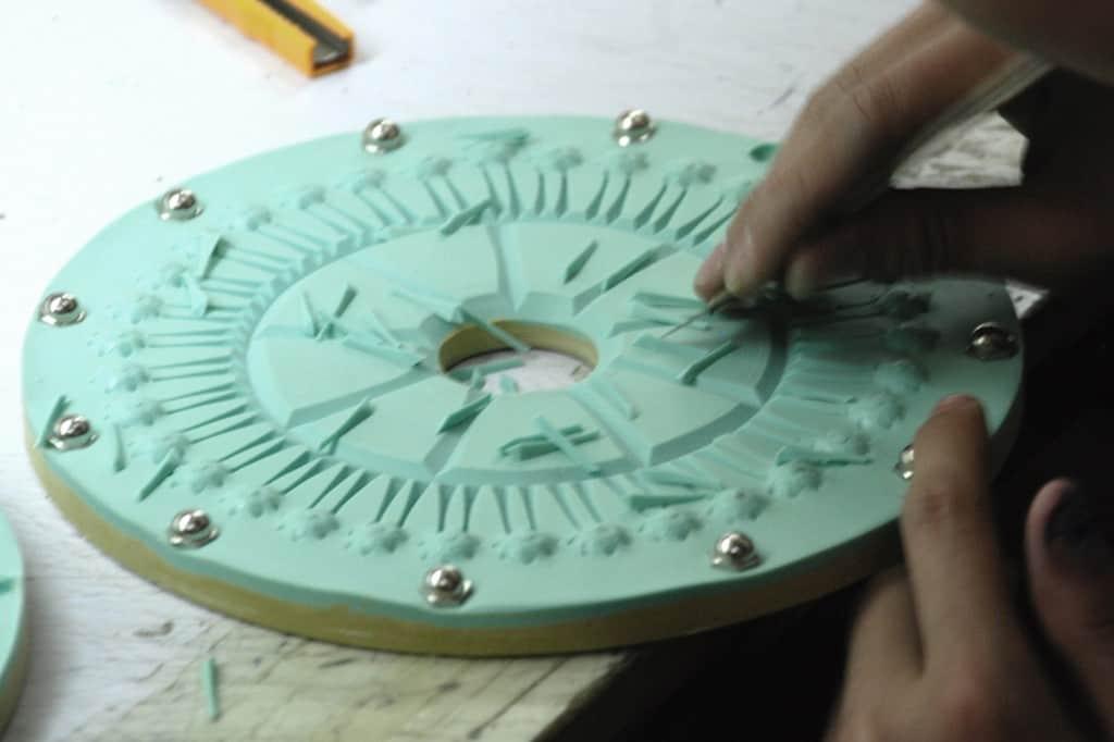 Erstellung des Designs der Schmuckaccessoires