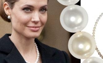 Angelina Jolie Perlenkette
