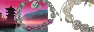 Shamballa Makramee Armbänder
