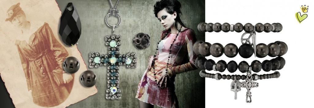 Schmuck im Vintage-Stil von kronjuwelen.com