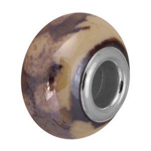 Keramik Großlochperle