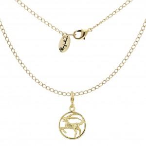 Halskette Sternzeichenanhänger Steinbock