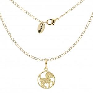 Halskette mit Sternzeichenanhänger Widder
