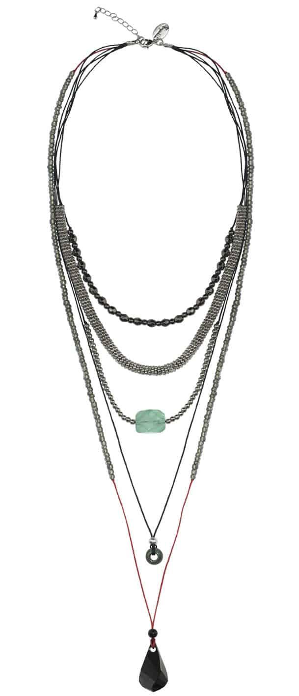 Statement Halskette mit Helix Anhänger StarStyle Halle Berry