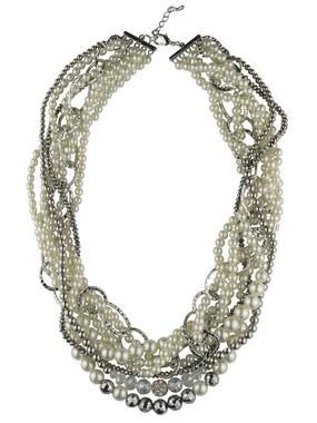 opulente Statement Perlenkette StarStyle Jessica Biel