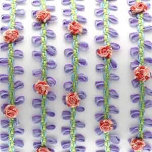 Schmuckband mit Blüten