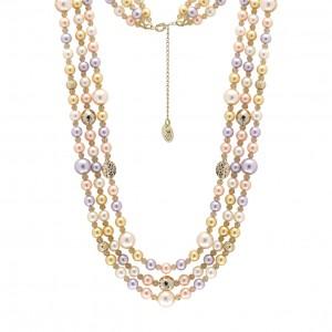 Hochzeitsfieber & Brautschmuck Perlenkette
