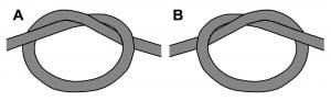 Makramee-Grundknoten