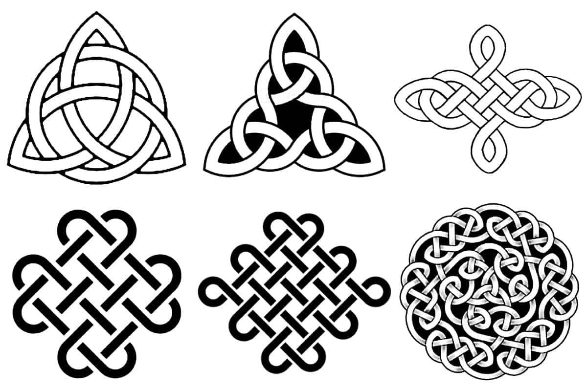 Keltische Knotenmotive - Kronjuwelen Bastel-Blog