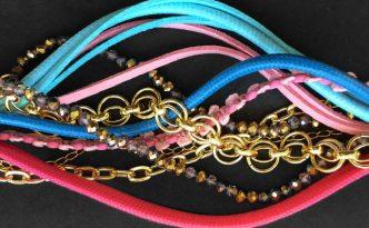 Armband aus Resten von kronjuwelen.com
