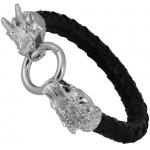 Kate Hudson Armband mit Drachenkopf Verschluss