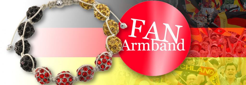 Shamballa Fan-Armband mit kostenloser Anleitung