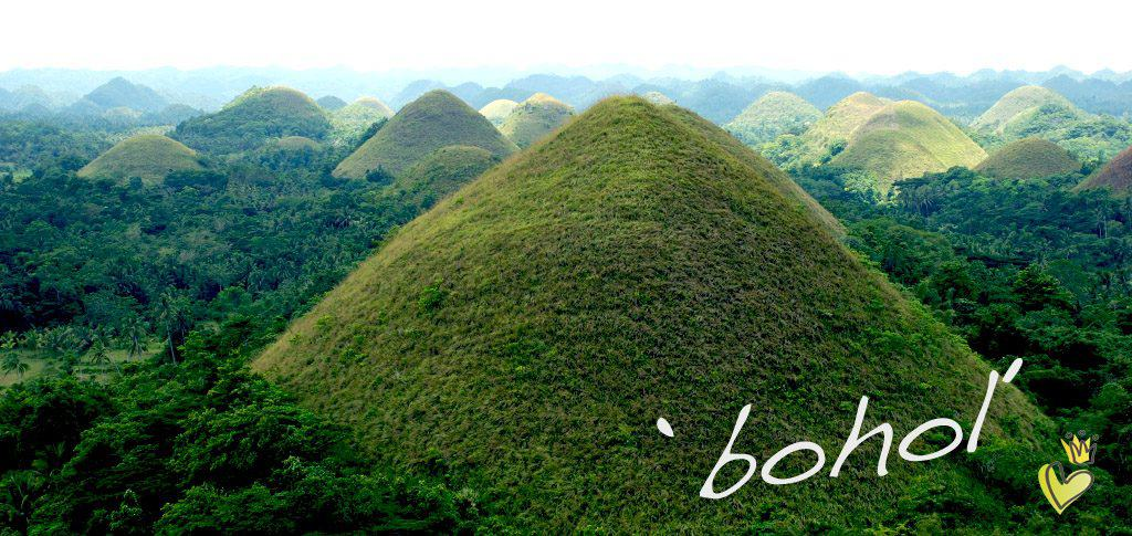 Edelholzperlen von kronjuwelen.com - Reisefoto Bohol, chocolate hills