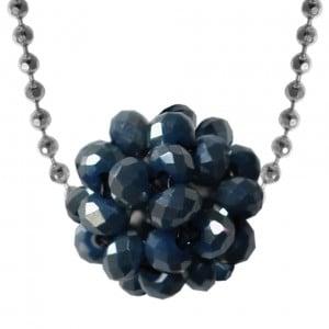 brillante Kugelanhänger-Halskette im Stilberater Schmuck von kronjuwelen.com