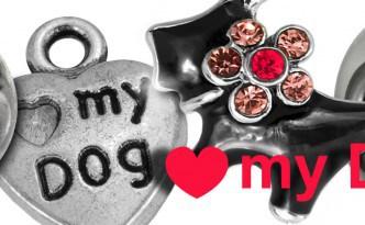 Hundeliebe, Perlen und Schmuckaccessoires