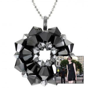 Amulett Schmuckanhänger StarStyle Anne Hathaway