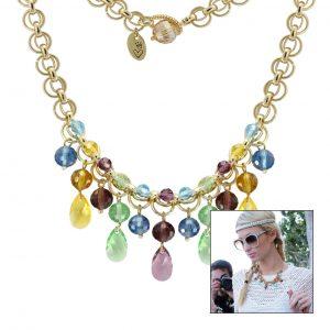 Halskette im Hippie Look - kostenlose Anleitung