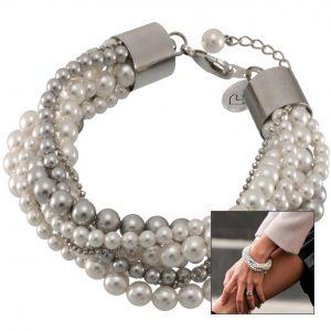 Anleitung breites Perlenarmband