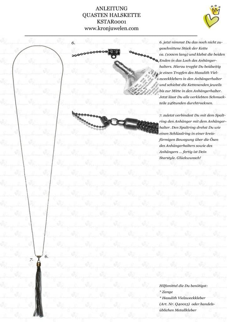 Anleitung Ashlee Simpson Quastenkette von kronjuwelen.com (Seite 3 von 3)