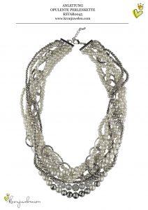 opulente Perlenkette