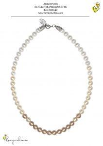 Anleitung klassische Perlenkette