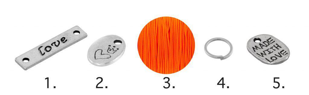 Basteln mit Kindern, elastisches Armband