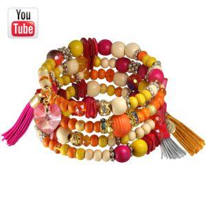 Memory Wire Spiral-Armband Video Anleitung von kronjuwelen.com