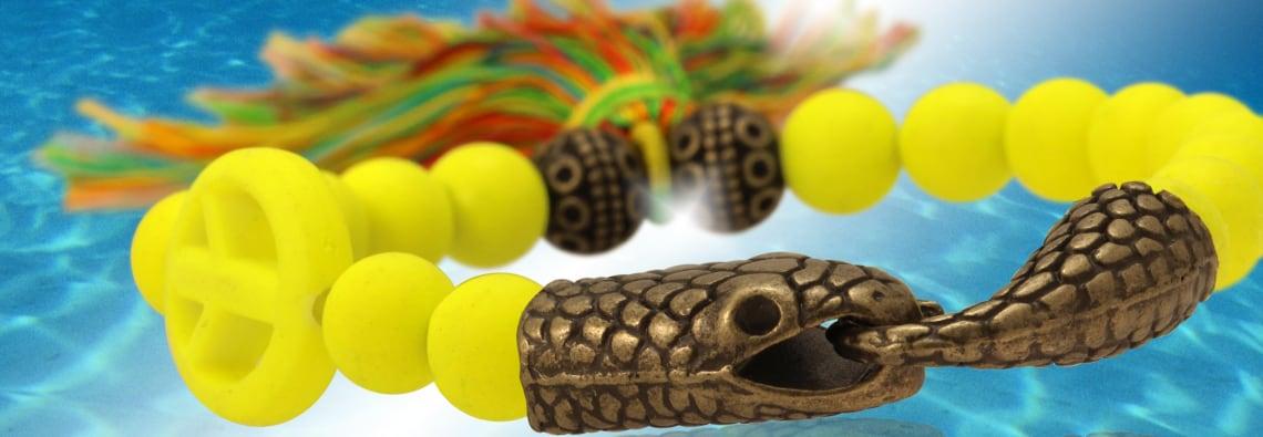 Armband mit Schlangen Verschluss