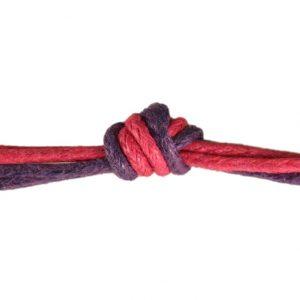 Basteln mit Kindern - Knotentechnik