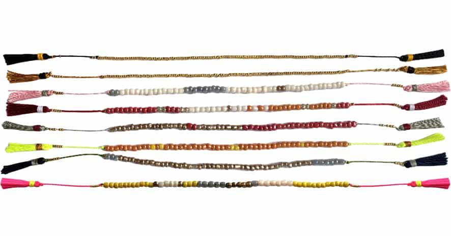 Anleitung Armband aus Rocailles Perlen kronjuwelen.com - Schritt 20