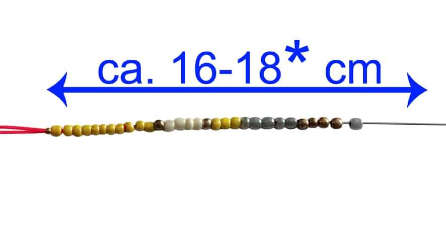Anleitung Rocailles Armband kronjuwelen.com - Schritt 5