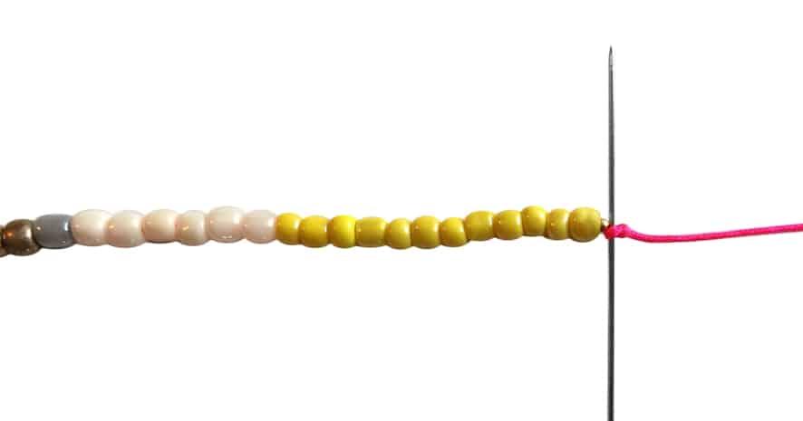 Anleitung Rocailles Armband kronjuwelen.com - Schritt 6
