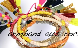 Armband aus Rocailles Perlen von kronjuwelen.com