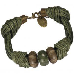 geknotetes Armband von kronjuwelen.com mit kostenloser Anleitung