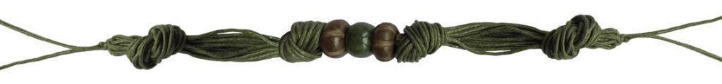 Anleitung geknotetes Armband von kronjuwelen.com - Schritt 5