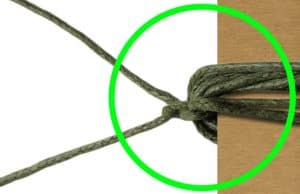 Anleitung geknotetes Armband von kronjuwelen.com - Schritt 2