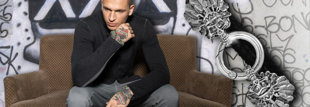 Totenkopf Verschluss - Armband mit kostenloser Anleitung von kronjuwelen.com