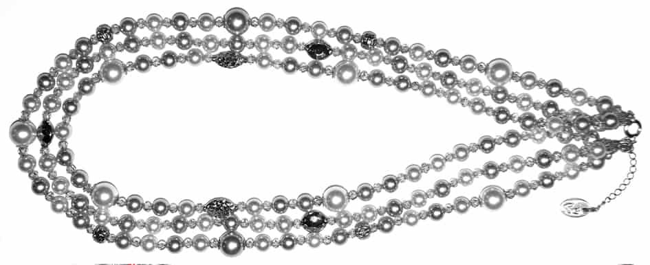 Perlenkette Anleitung von kronjuwelen.com