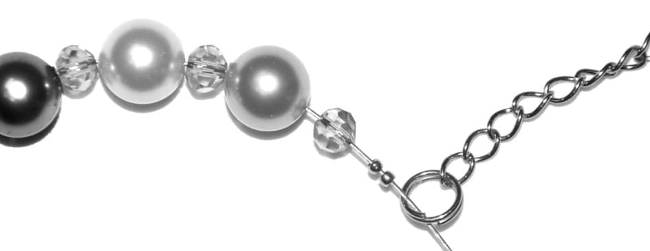Perlenkette Anleitung Schritt 14 von kronjuwelen.com