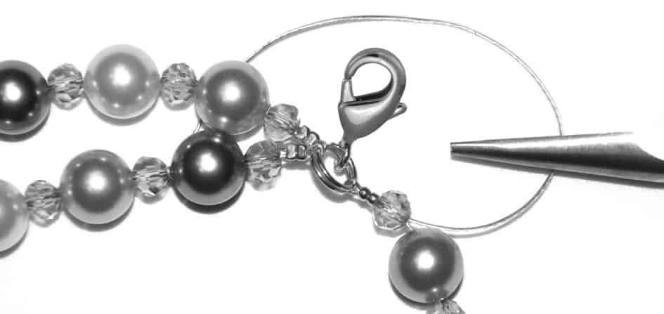 Perlenkette Anleitung Schritt 20 von kronjuwelen.com