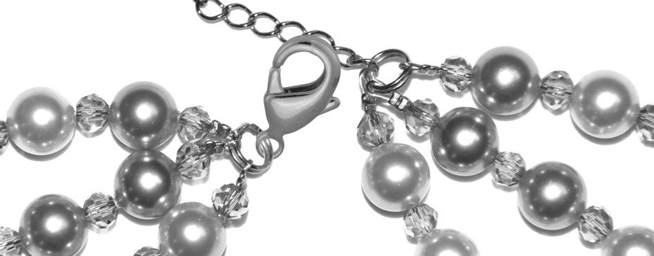 Perlenkette Anleitung Schritt 21 von kronjuwelen.com