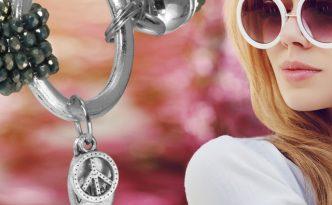 Glasperlenarmband mit kostenloser Bastelanleitung von kronjuwelen