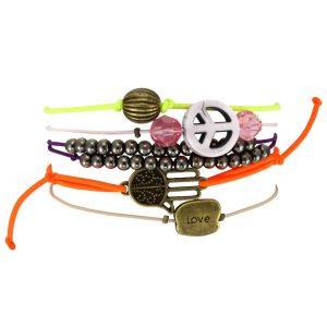 Armbandset mit Schiebeknoten von kronjuwelen.com