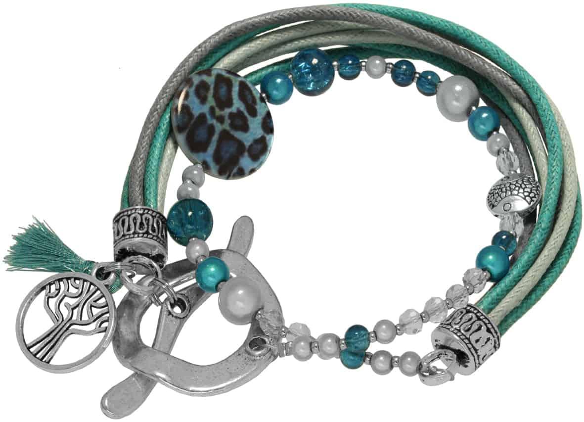 Anleitung Armband mit Knebelverschluss, Schritt 12Anleitung Armband mit Knebelverschluss von kronjuwelen.com, Schritt 11