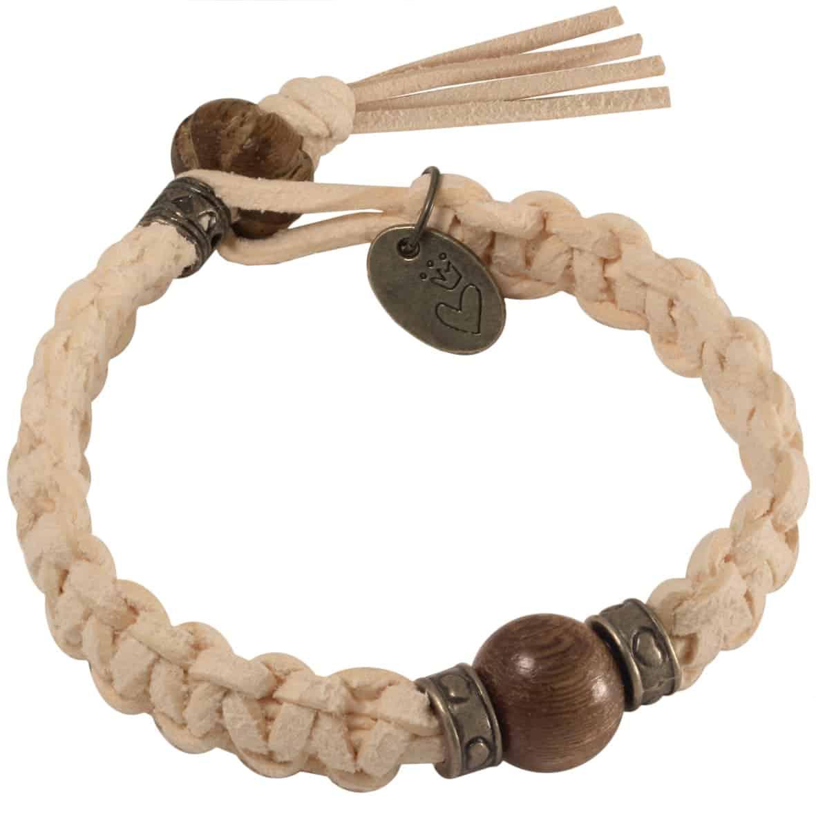 Geknüpftes Makramee Armband von kronjuwelen.com