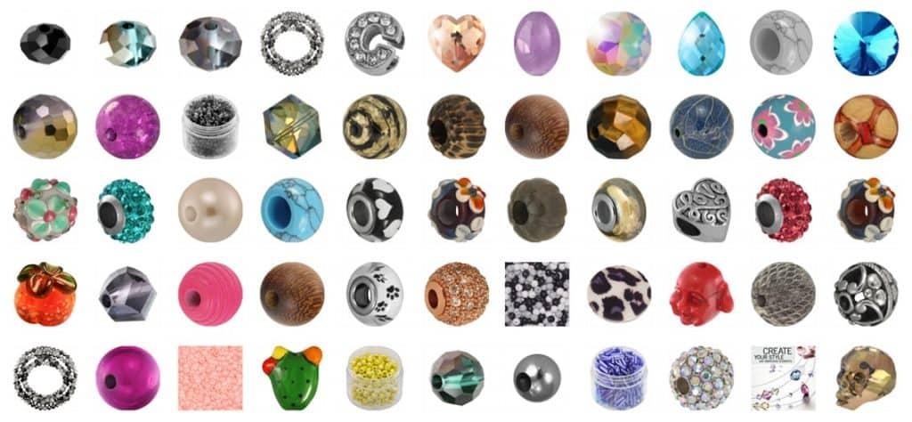 Perlen Auswahl