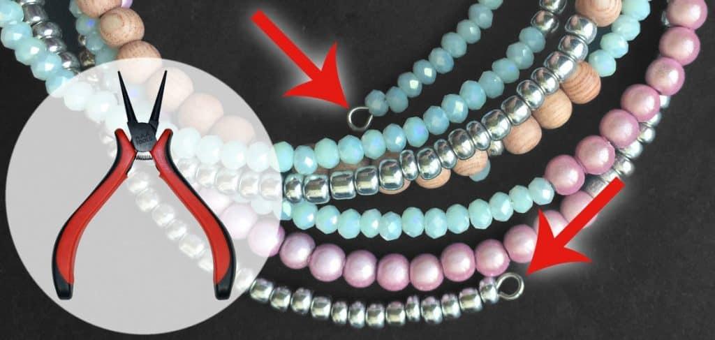Memory Wire Spiral-Armband Anleitung von kronjuwelen.com - Schritt 2